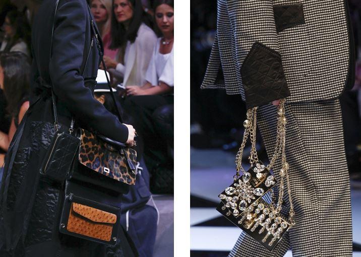 Más de un bolso de Christian Dior y Dolce Gabbana