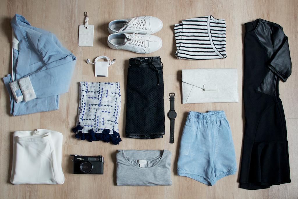 Prendas básicas para viajar