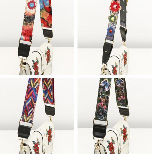 straps tiras bandoleras de adorno Misako