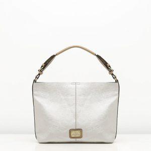 ANGELA bolso plateado de Misako