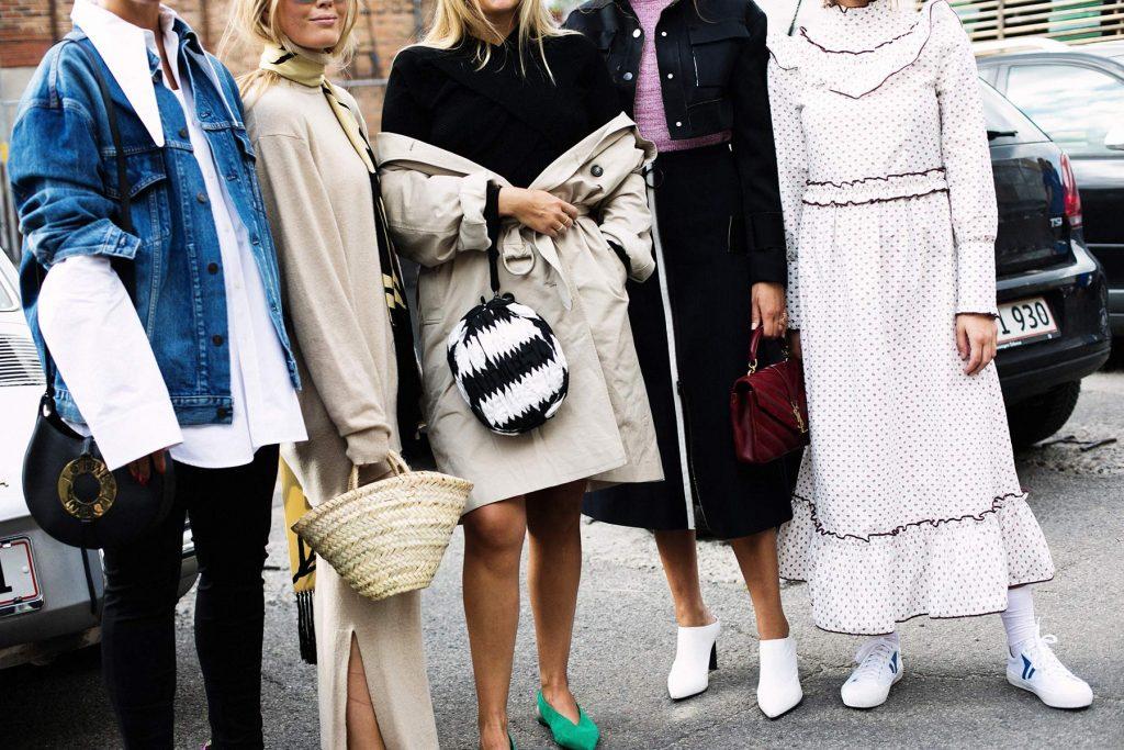 Bolsos en la semana de la moda de Copenhague