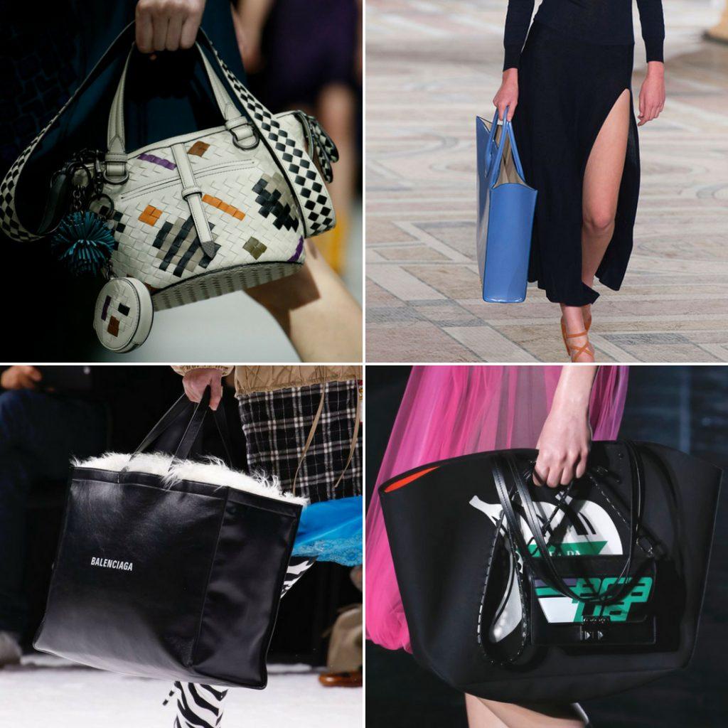 Capazos y shoppers tendencias otoño invierno 2018 2019