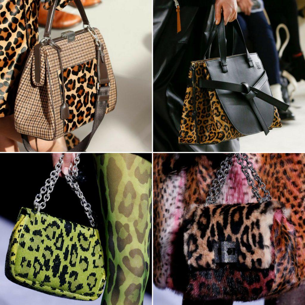 Animal print leopardo tendencias otoño invierno 2018 2019